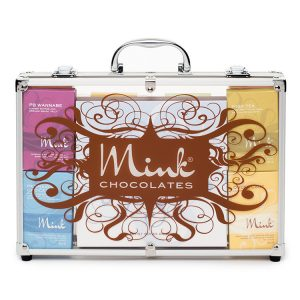 chocolate briefcase